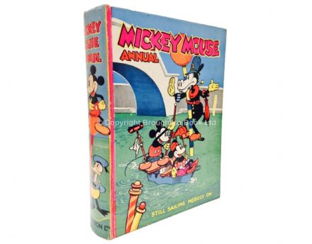 Mickey Mouse Annual 1937 Dean & Son Ltd 1936